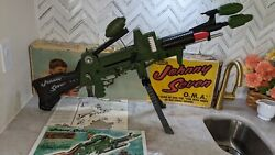 Topper Johnny Seven One Man Army With Box Ammo Bombs Instructions And Poster