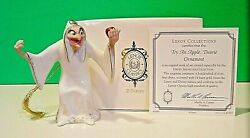 Lenox Snow White Witch Try An Apple Dearie Ornament New In Box With Coa