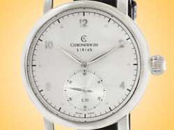 Chronoswiss Sirius Manufacture Hand-wound Stainless Steel Men's Watch Ch-1023-11