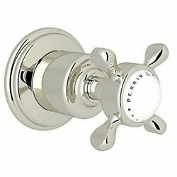 Rohl U.3241x-pn/to Polished Chrome Perrin And Rowe 3/4 Shower Volume Control