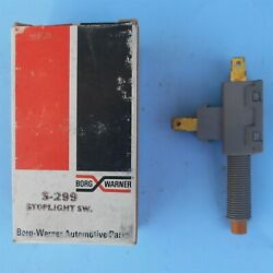 Nos Gm Stoplight Switch Bwd S-299 1966-1990 Chevrolet Other Gm Cars Made In Usa
