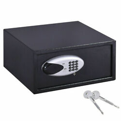 Goplus 17and039and039 Digital Keypad Depository Safe Security Box Home Hotel Jewelry Cash
