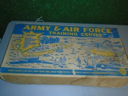 1960's Marx Army And Air Force Training Center No. 4149 With Box Playset