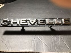 Chevelle Grill Emblem Late 60and039s To Early 70and039s See Description