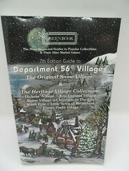 Greenbook Department 56 Villages And Snowbabies Collection Guide Book -7th Edition