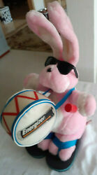 Large 23 Energizer Pink Plush Stuffed Bunny Rabbit Toy 1995 Excellent Condition