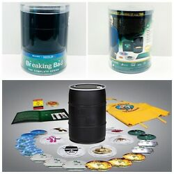 New Breaking Bad The Complete Series Barrel Blu-ray 2013 16-disc Set Rare