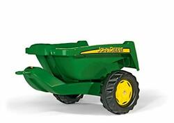 Rolly Toys John Deere Tipper Trailer With Rear Tipping For Pedal Tractor Yout...