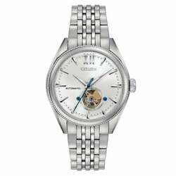 Citizen Nb4000-51a Mens Signature Grand Classic Automatic Stainless Steel Watch