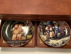 Hummel, Little Companions 8 Collector Plates, Lot Of 8