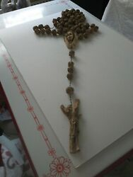 Vintage Resin Rosary Beads From Rome Italy