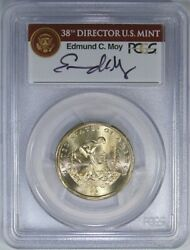 2009 1 Pcgs Ms67 Native American Missing Edge Lettering And Moy Signature