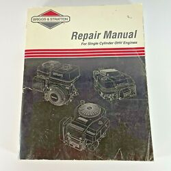 Briggs And Stratton 272147 Lawn And Garden Equipment Engine Repair Manual Genuine