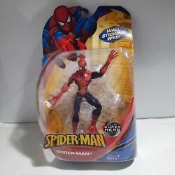 Spider-man Classics Wall Sticking Web Red/blue Action Figure Hasbro 2009 New