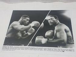Mike Tyson Vs. Carl The Truth Williams 1989 Hbo Promotional Boxing Glossy Photo