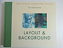 Walt Disney Animation Studios Archive Series Layout And Background 1st Ed Hc Book