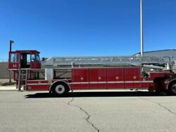 2006 Seagrave Tractor Drawn Aerial Fire Truck Burned For Parts Los Angeles 29367