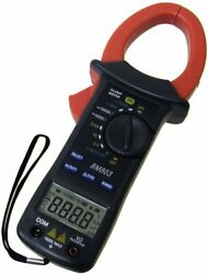 Sinometer Bm803 Ac/dc Current 1000a Clamp Meter With 3 3/4 Digits High Accuracy