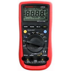 Sinometer Ut61a Ac Dc Voltage Frequency Multimeter Non-contact Voltage Detector