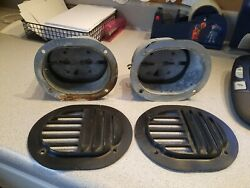 Jeep Grand Wagoneer Fresh Air Intake Ducts And Louvre Louver Cover Plates - Lh, Rh