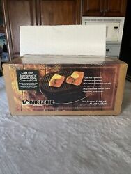 Lodge Cast Iron Sportsman's Grill Discontinued New Old Product, New In Box