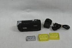 Sony Hdr-cx405 Hd Handycam Video Camera Camcorder 60x Zoom And Accessories
