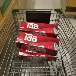 Tab Cola Fridge Pack 4 12-pack Tab Soda 48 Cans Exp October 21