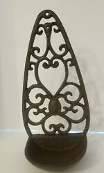 Thunder Glass Cast Iron Wall Mount - Only