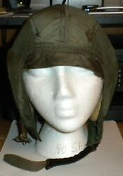 Flying Helmet 288 Navy With Nylon Flight Suit Both Are Size 38