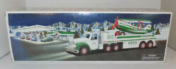 Hess 2002 Toy 18 Wheeler Truck And Airplane Brand New In Box