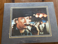 Clint Eastwood Signed Autographed 8 X 10 Photo Drinking A Beer - Great Signature