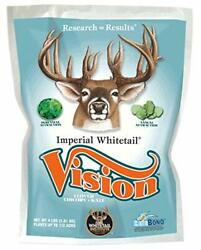 Whitetail Institute Vision Deer Food Plot Seed For Fall Planting Perennial Bl...