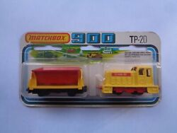 Matchbox Tp-20 Train Loco. Shunter And Tipper Twin Pack - Mint On Card