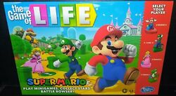 Brand New Super Mario Brothers Life Board Game Sealed