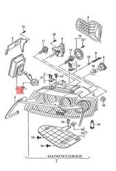 Genuine Audi Control Unit For Gas Discharge Lamp 8h0907391