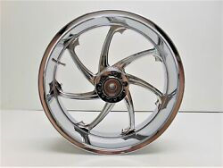 Harddrive Victory Vision Rim 18 X 5.5 With Abs Luck 11 Rear Chrome