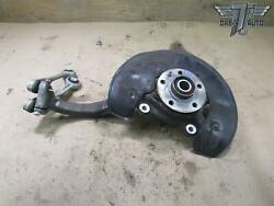 12-18 Audi C7 A6 A7 Awd Front Right Spindle Knuckle Wheel Hub Bearing W/ Arms
