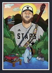 2021 Topps X Nashville Stars Online Exclusive Card Country Singer Luke Combs