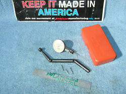 Moore Tool Co. 3056a Jig Bore Used Dog-leg With Swiss .0001 Indicator Machinist