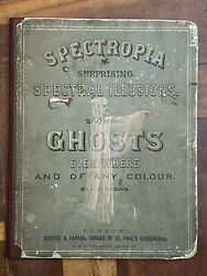 Spectropia Or Surprising Spectral Illusions Ghosts 1st Ed 1864 London Very Rare