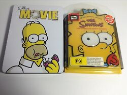 2dvd Set. The Simpsons Movie And Complete Season Eight Box Set [limited Edition]