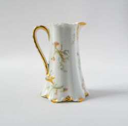 Haviland And Co. Limoges France - The St. Lazare Pitcher Floral Pattern