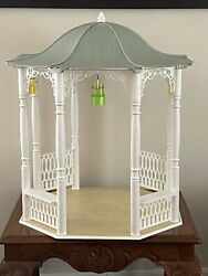 American Girl Samanthaandrsquos Gazebo For Dolls Retired Collection Great Preowned