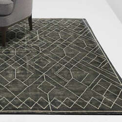 New Crate And Barrel 5x8 6x9 8x10 9x12 Ruell Black Rug Wool Area Rug Carpet Sale