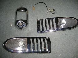 Chevrolet 1951 Nice Used Park Lamp Set And Taillight Housing