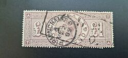 Sg186a Andpound1 Brown Wmk Orbs With Ta Broken Framestate T2andnbsp - Very Rare