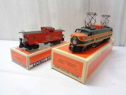 Lionel 6-18302 Great Northern Fallen Flags Electric And 6-19703 Caboose Ln