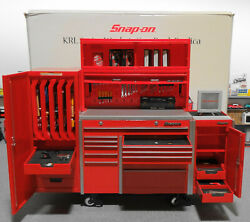 1/8 Scale Toy Snap On Diecast Tool Box Garge Workstation Bank Replica