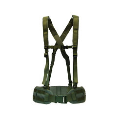 Tactical Army War Belt Molle Green Swat Airsoft Sniper Version
