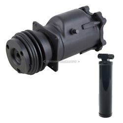 For Cadillac Deville And Fleetwood Oem Ac Compressor W/ A/c Clutch And Drier Csw